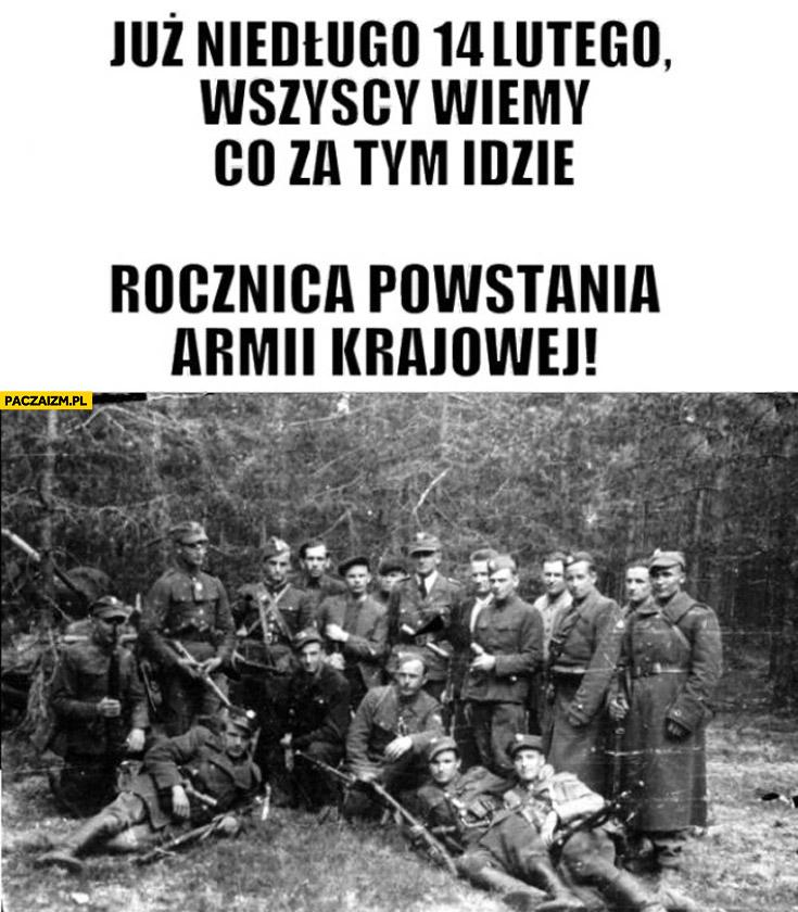 14 lutego rocznica powstania Armii Krajowej