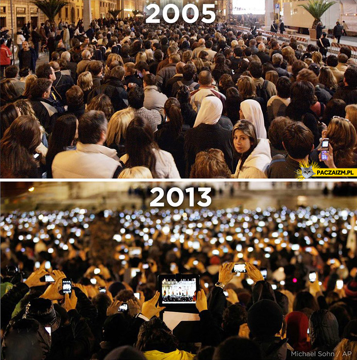 2005 vs 2013 na przykładzie konklawe