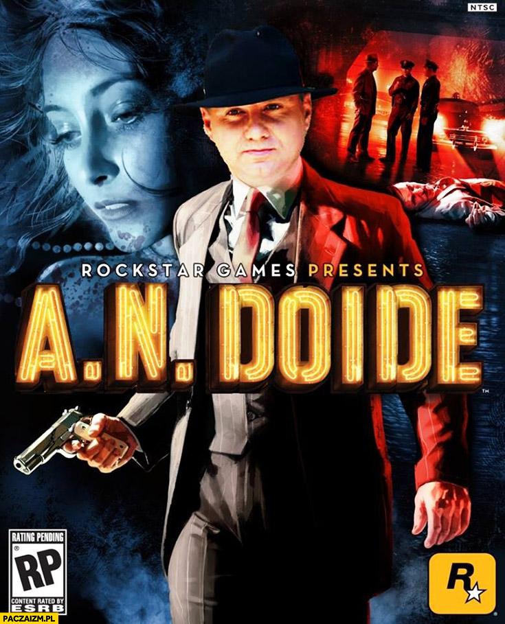 A.N. Doine Andrzej Duda okładka gry Rockstar