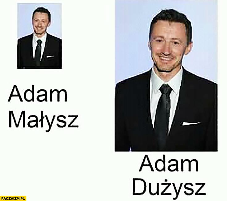Adam Małysz, Adam Dużysz małe duże zdjęcie