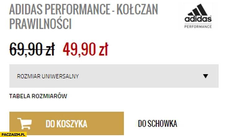 Adidas Performance kołczan prawilności