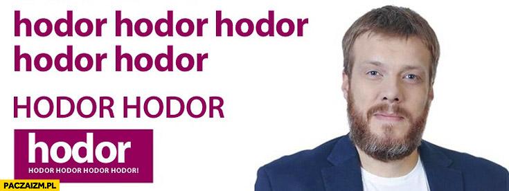 Adrian Zandberg hodor