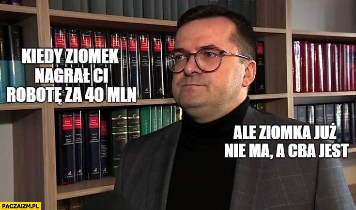 Afera KNF kiedy ziomek nagrał Ci robotę za 40 milionów ale ziomka już nie ma a CBA jest Grzegorz Kowalczyk Marek Chrzanowski