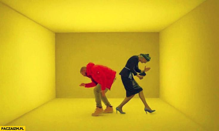 Agata Duda Drake teledysk Hotline Bling przeróbka photoshop powitanie na ŚDM