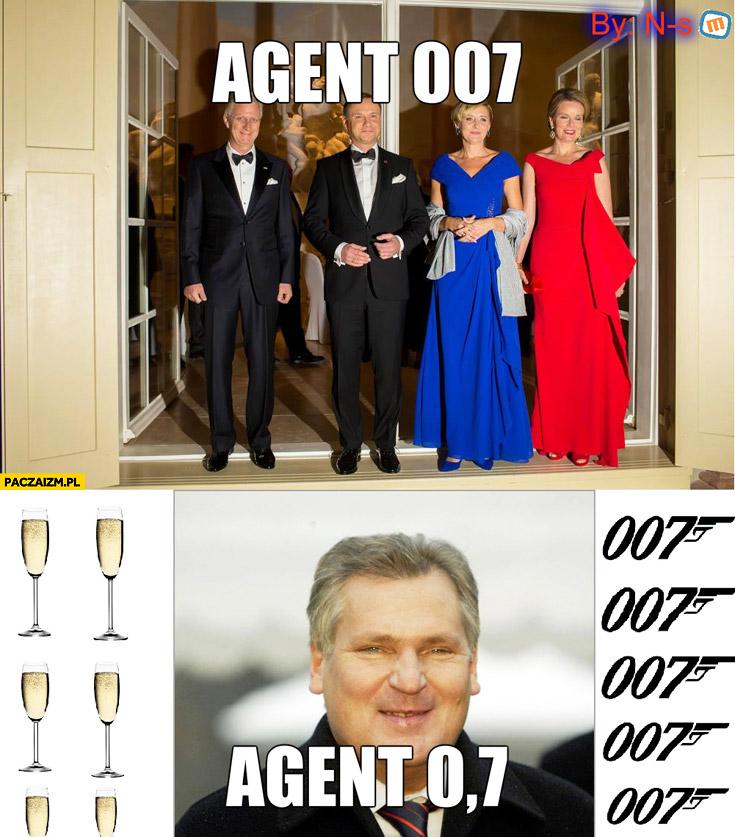 Agent 007 Duda, agent 0,7 Kwaśniewski