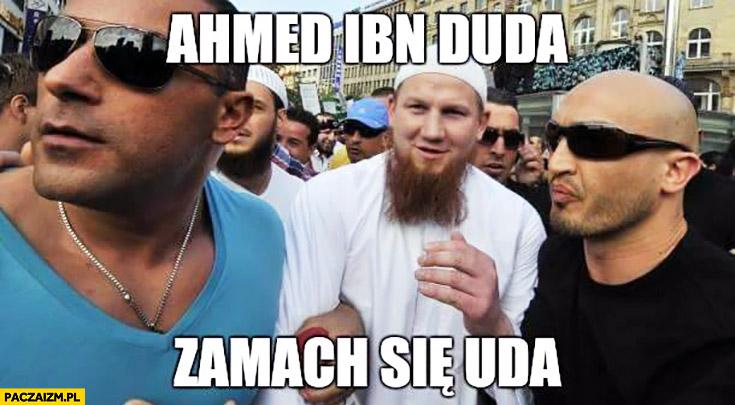 Ahmed Ibn Duda zamach się uda