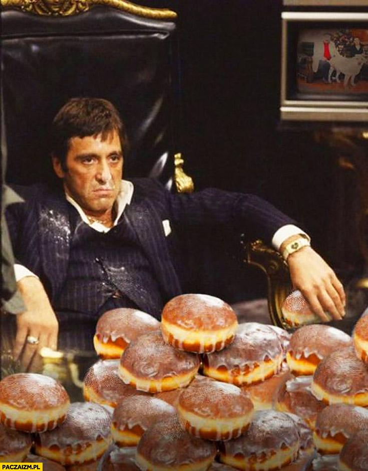 Al Pacino pączki Scarface