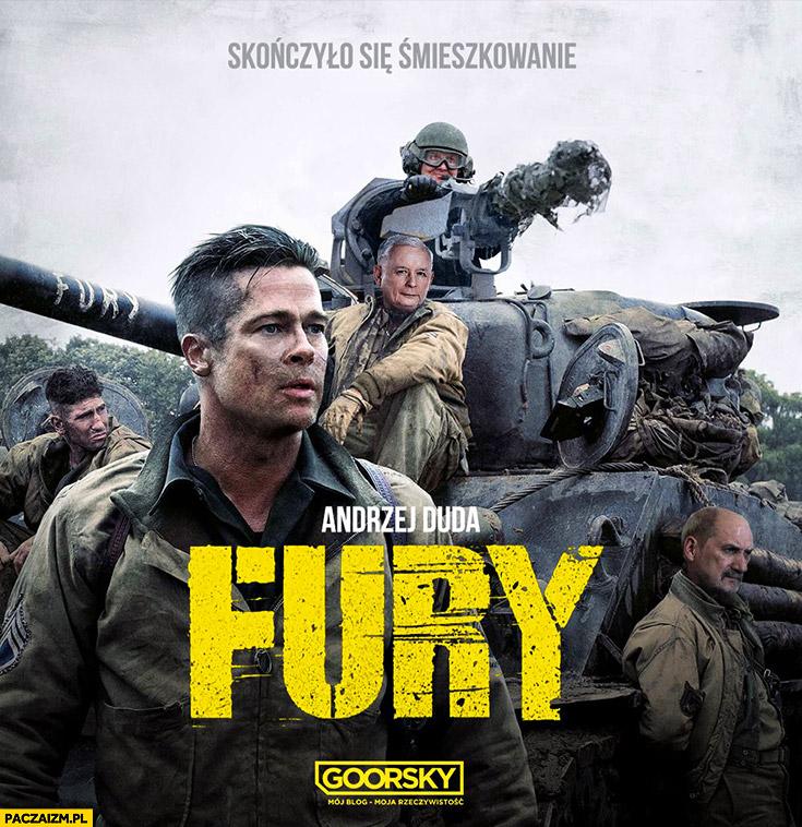 Andrzej Duda Fury działo armata minigun przeróbka Goorsky