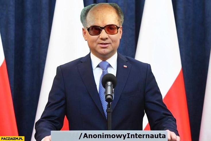 Andrzej Duda Jaruzelski przeróbka Anonimowy internauta