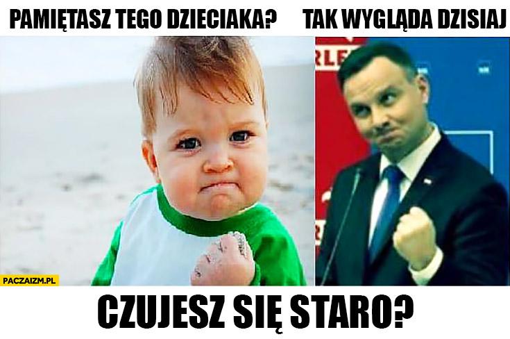 Andrzej Duda pamiętasz tego dzieciaka? Tak wygląda dzisiaj, czujesz się staro?