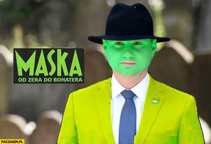 Andrzej Duda w kapeluszu Maska od zera do bohatera