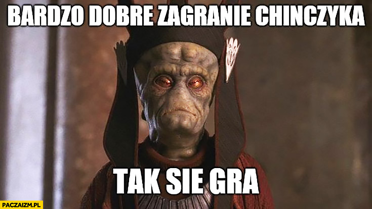 Andrzej Strejlau bardzo dobre zagranie Chińczyka tak się gra Star Wars Gwiezdne Wojny