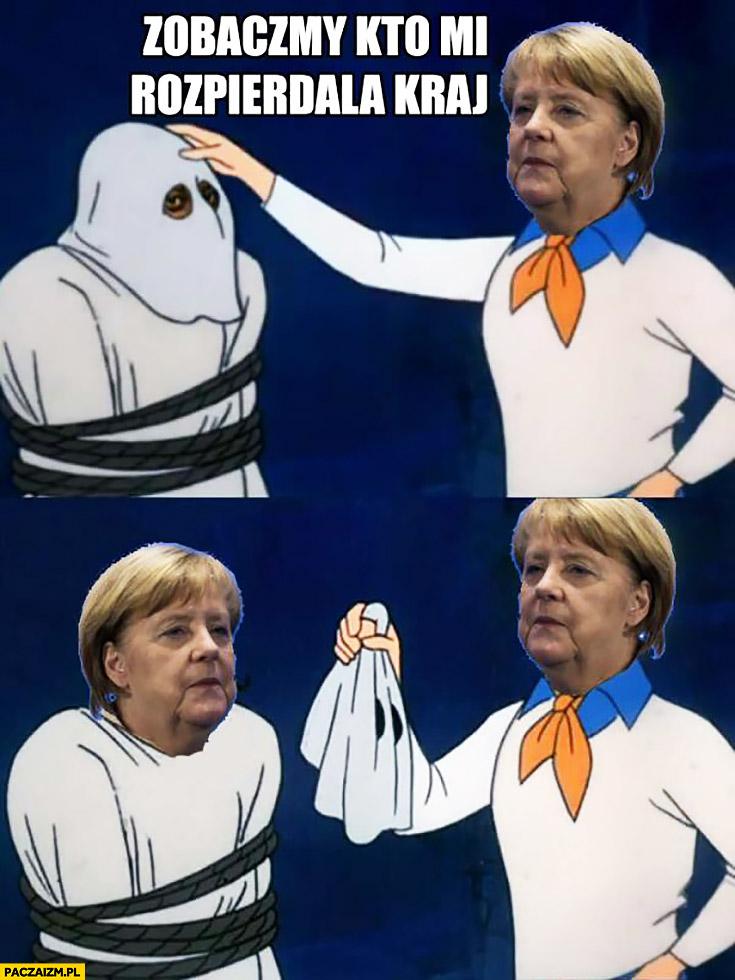 Angela Merkel zobaczymy kto mi rozpierdziela kraj Scooby Doo