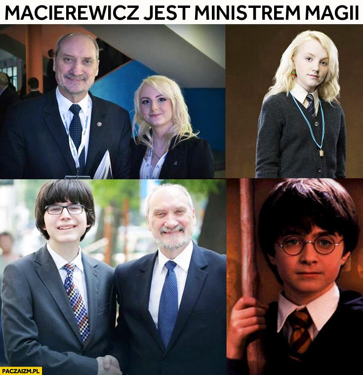 Antoni Macierewicz jest ministrem magii Harry Potter Janniger