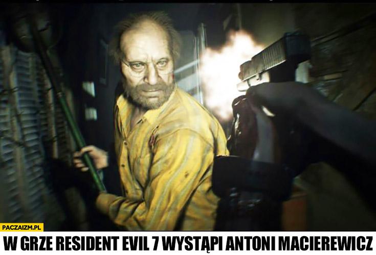 Antoni Macierewicz w grze Resident Evil 7