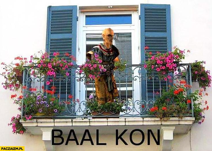 Baal kon balkon