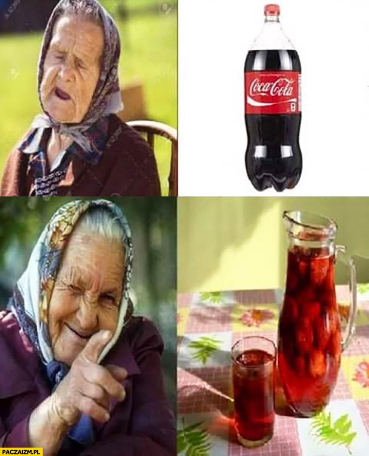 Babcia Coca-Cola nie kompot to jest to