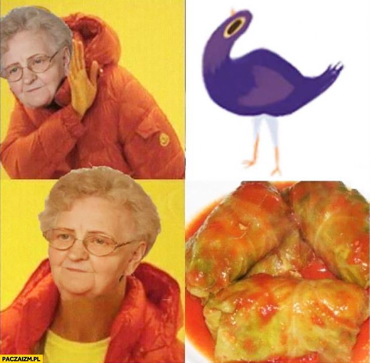 Babcia gołąbki Drake przeróbka