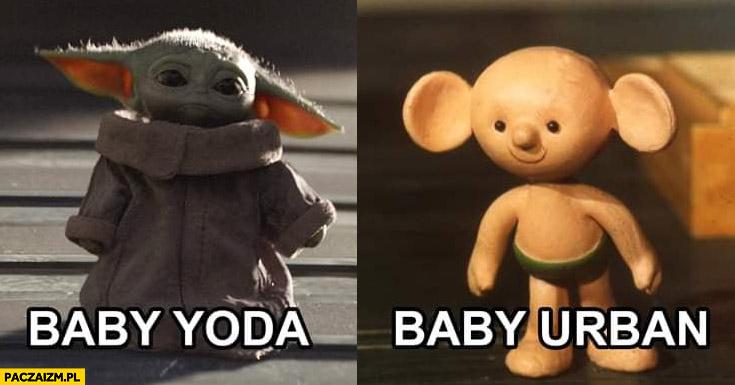 Baby Yoda baby Jerzy Urban Plastuś