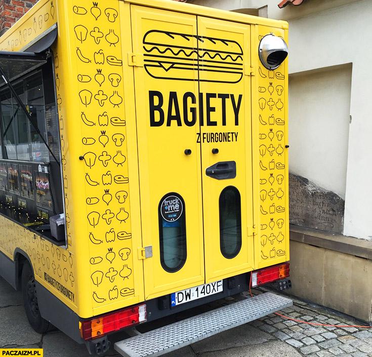 Bagiety z furgonety foodtruck