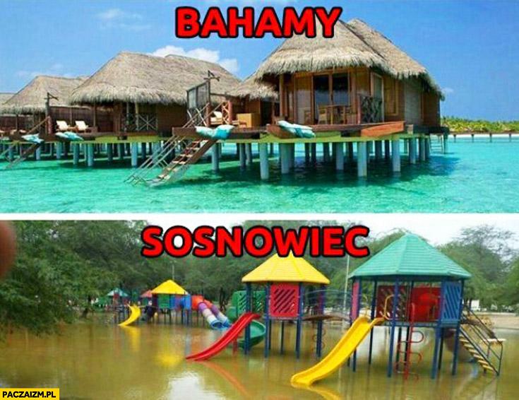 Bahamy Sosnowiec porównanie fail