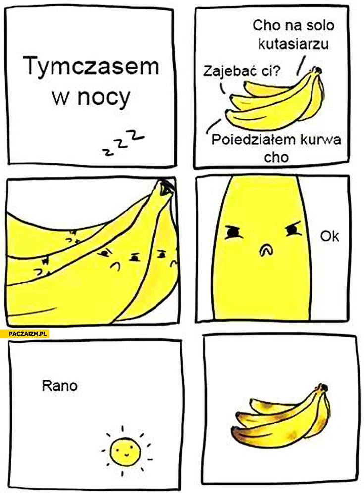 Banany się biją