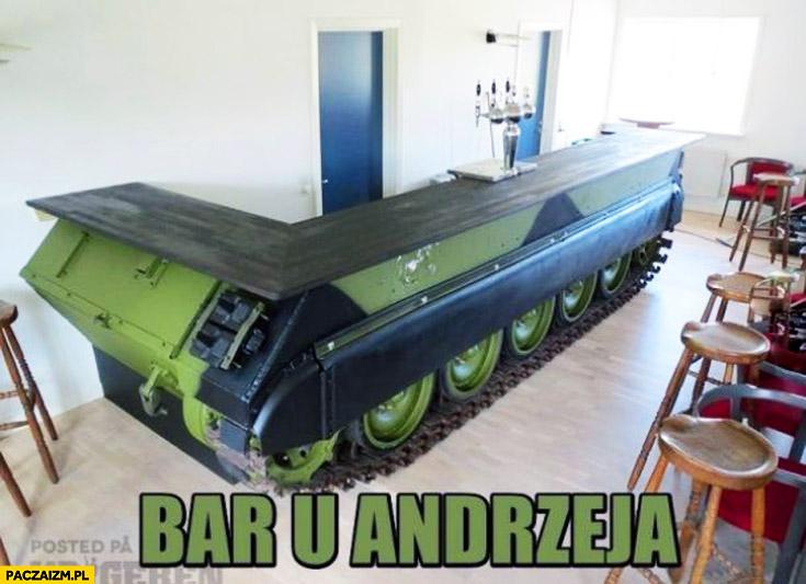 Bar u Andrzeja czołg