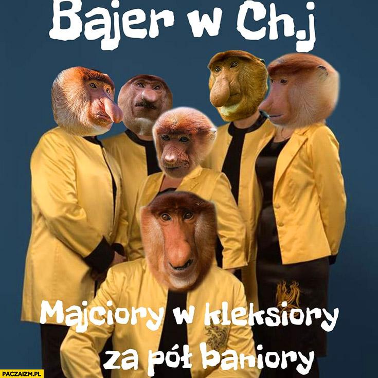Bayer Full majciory w kleksiory za pół baniory nosacze małpy przeróbka
