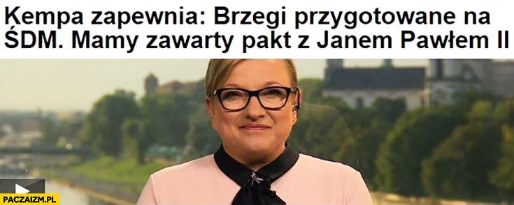 Beata Kempa: Brzegi przygotowane na ŚDM, mamy zawarty pakt z Janem Pawłem II