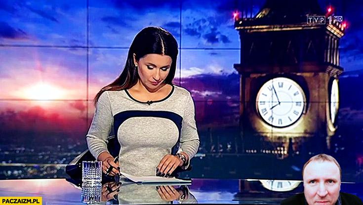 Beata Tadla Wiadomości TVP twarz Kurskiego