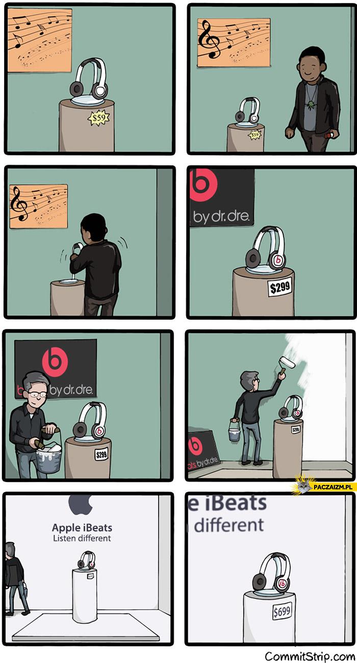 Beats by Dre kupione przez Apple