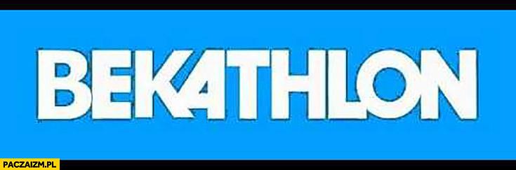 Bekathlon Decathlon przeróbka logo