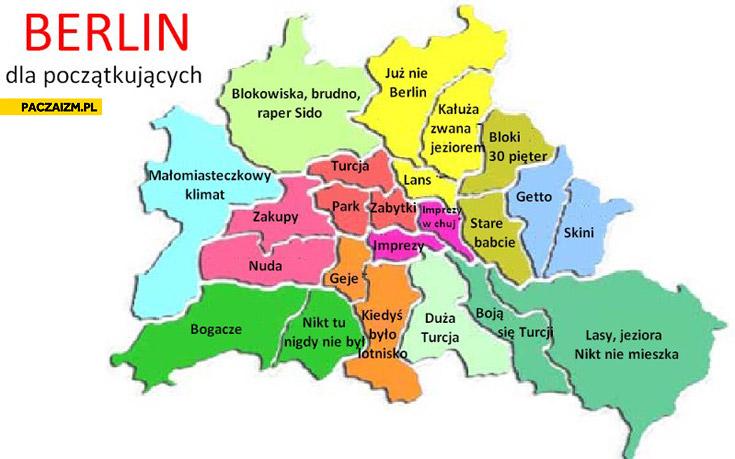 Berlin dla początkujących dzielnice na wesoło
