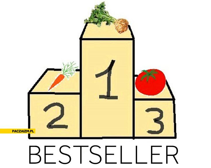 Bestseller seler najlepszy na pierwszym miejscu