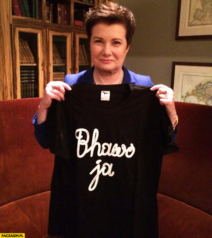 Bhawo ja HGW koszulka Hanna Gronkiewicz-Waltz