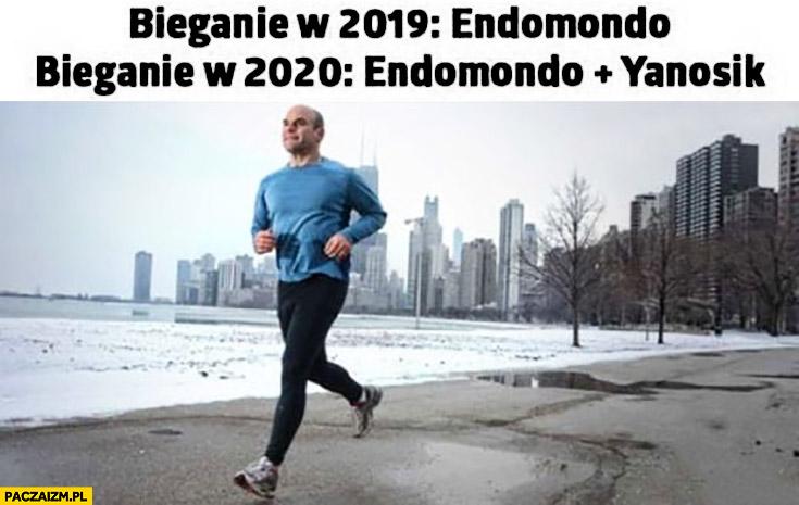 Bieganie w 2019 endomondo, bieganie w 2020 endomondo plus janosik