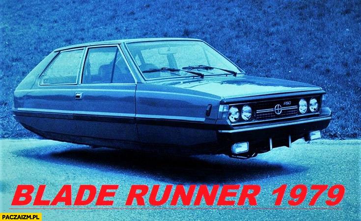 Blade Runner 1970 Polonez FSO przeróbka