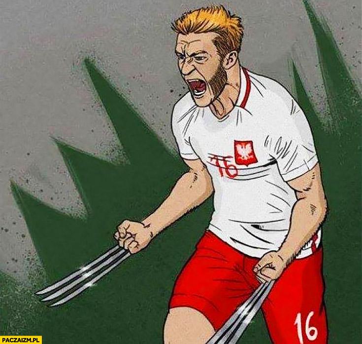 Błaszczykowski Wolverine Kuba Jakub przeróbka