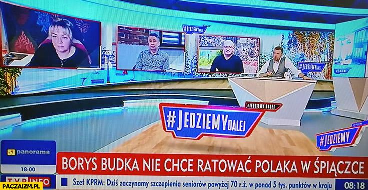Borys Budka nie chce ratować Polaka w śpiączce pasek TVPiS