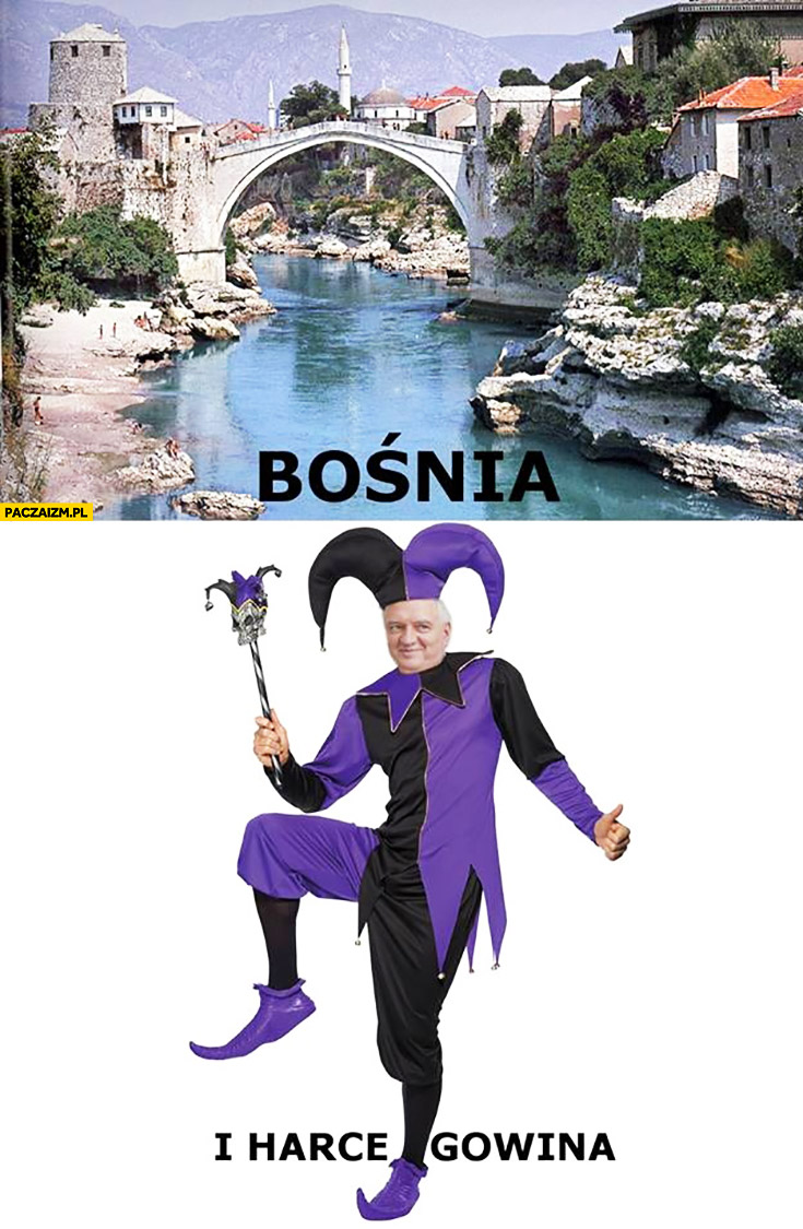 Bośnia i harce Gowina Jarosław Gowin