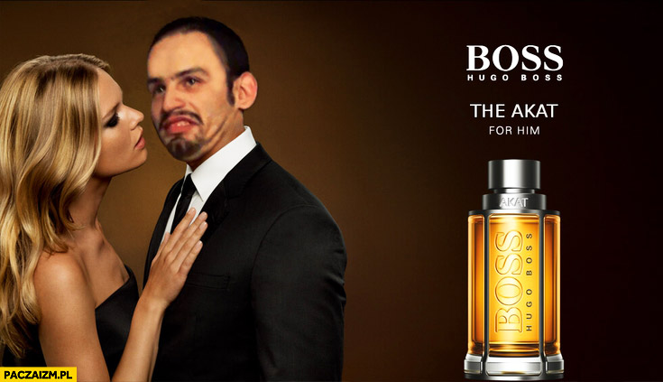 Boss perfumy the Akat for him. Tiger bonzo przeróbka