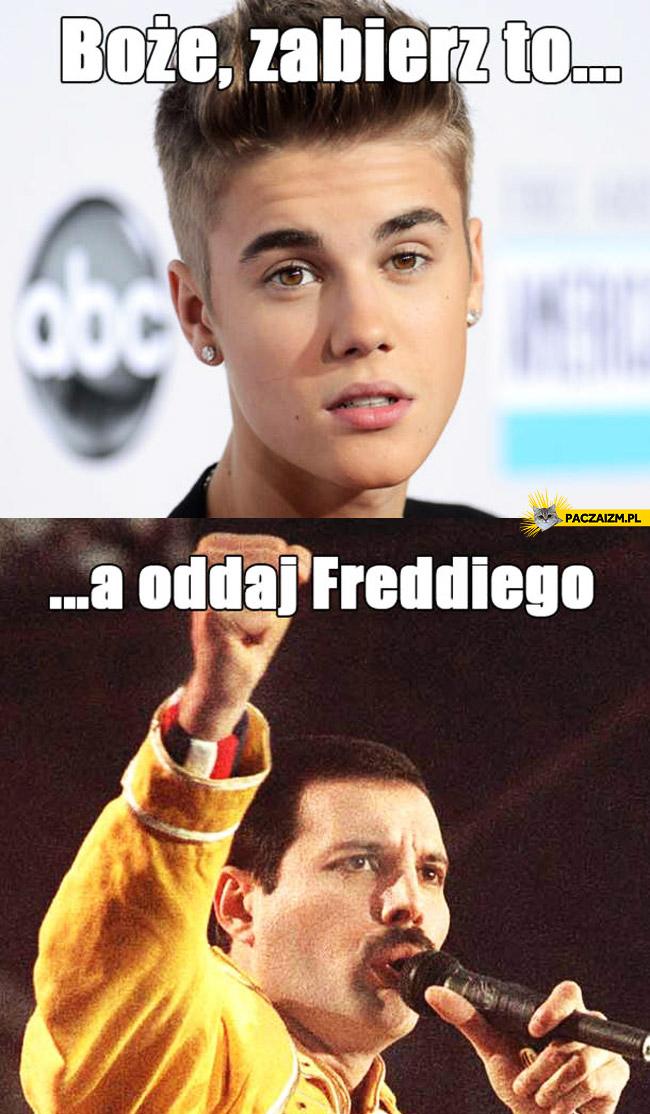 Boże zabierz to a oddaj Freddiego