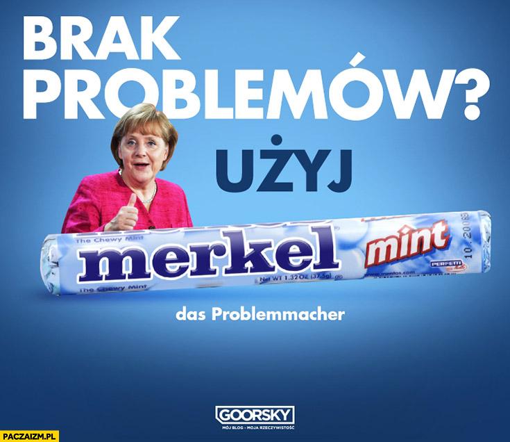 Brak problemów użyj Merkel das problemmacher Goorsky