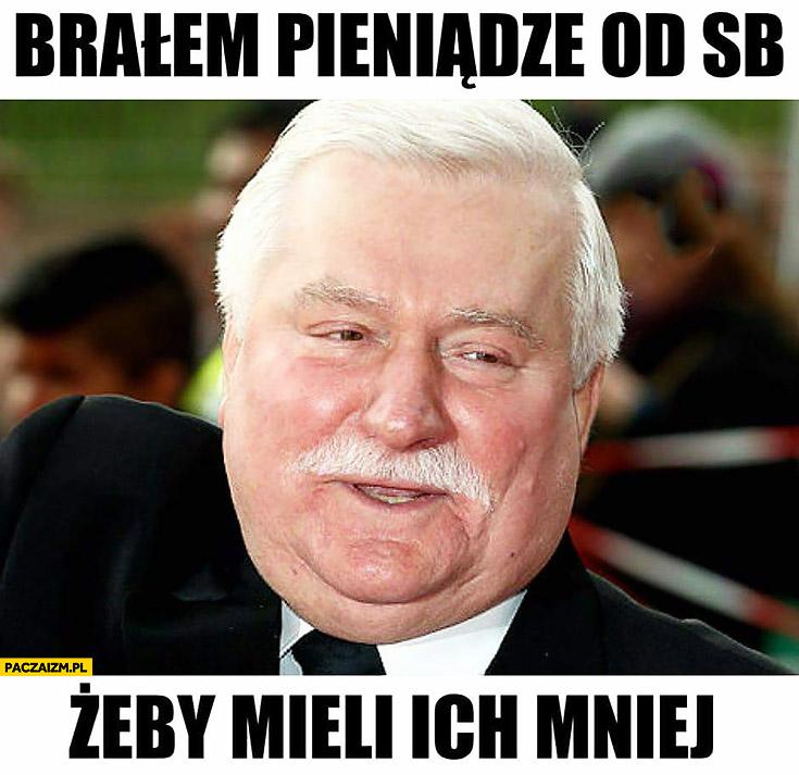 Brałem pieniądze od SB żeby mieli ich mniej Lech Wałęsa TW Bolek