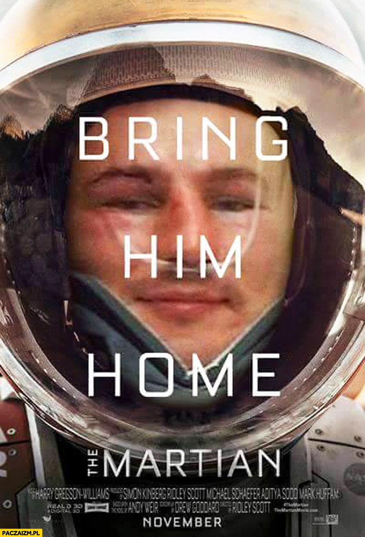 Bring him home Marsjanin Artur Szpilka fail walka przeróbka
