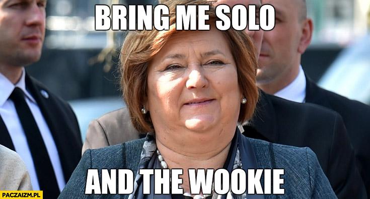 Bring me Solo and the Wookie Anna Komorowska Jabba Gwiezdne Wojny Star Wars