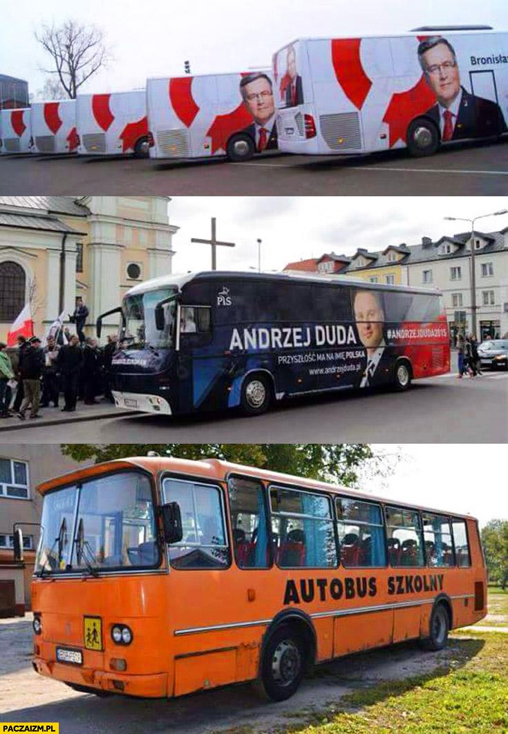 Bronkobus Dudobus autobus szkolny fail
