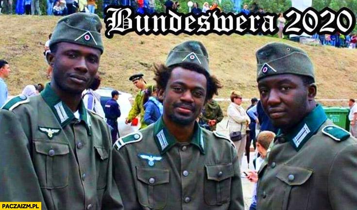 Bundeswera 2020 murzyni imigranci