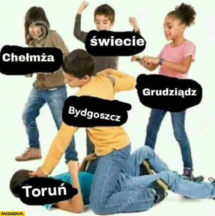 Bydgoszcz bije Toruń, Chełmża, Świecie, Grudziądz kibicują