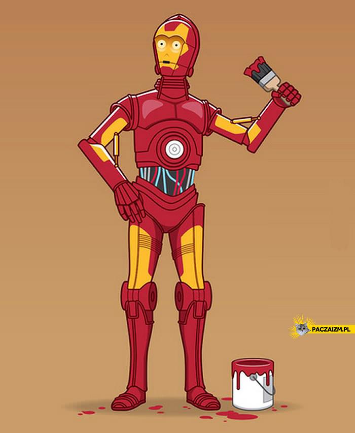 C-3PO Iron Man